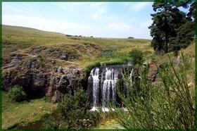 Cascade sur le ruisseau Allanche