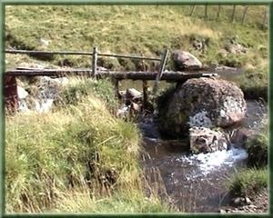 Passerelle ruisseau