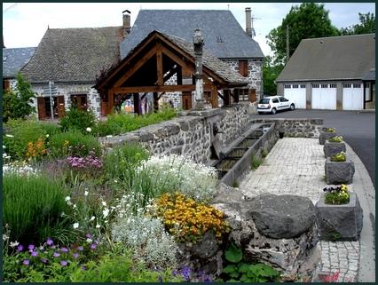 Fontaine à Oradour