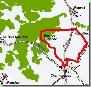 Carte Suc de Lagarde