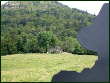 Buron près de Récusset