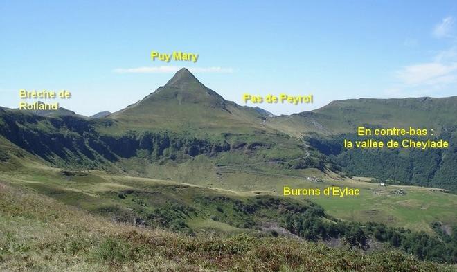 Devant le Puy Mary