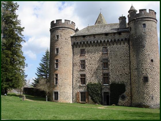 Façade du château