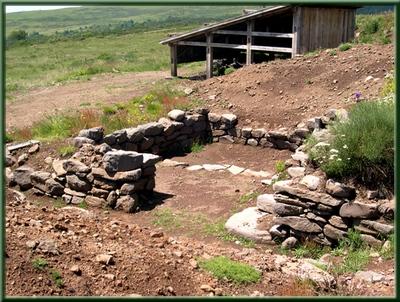 structures archéologiques
