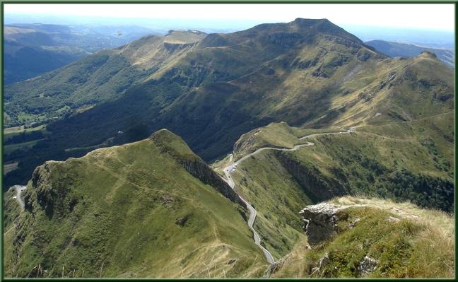 Du sommet du Puy Mary