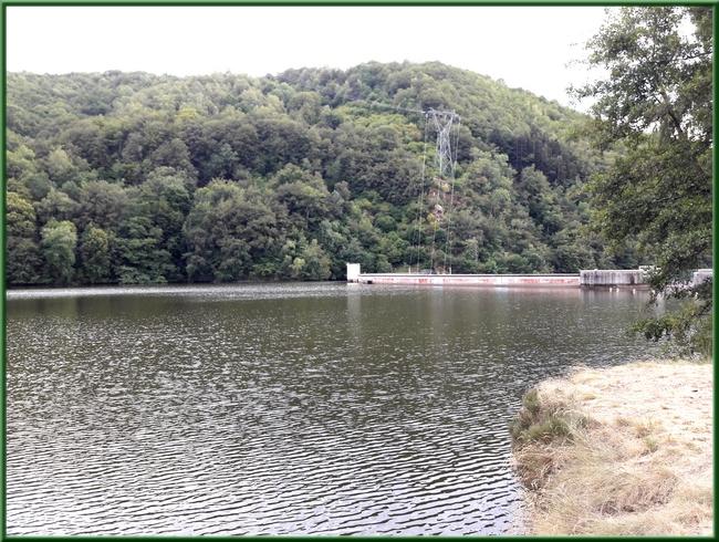 Retenue du barrage de Lanau