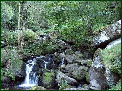 ruisseau près du moulin