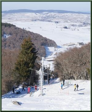 piste de ski alpin