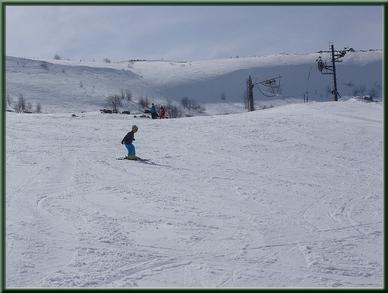 ski à Prat de Bouc