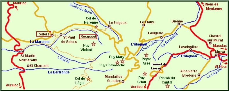 carte Puy Mary